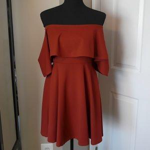 Orange Dress - #69